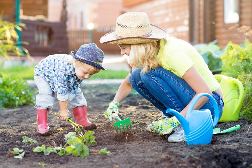 Little Green Fingers: Why Children Should Do More Gardening