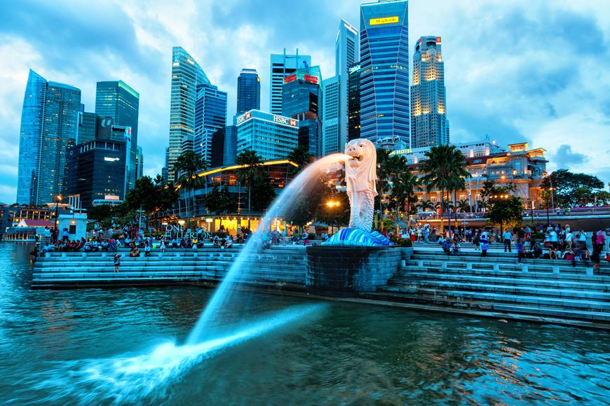 Merlion Park In Singapore Expatwoman Com