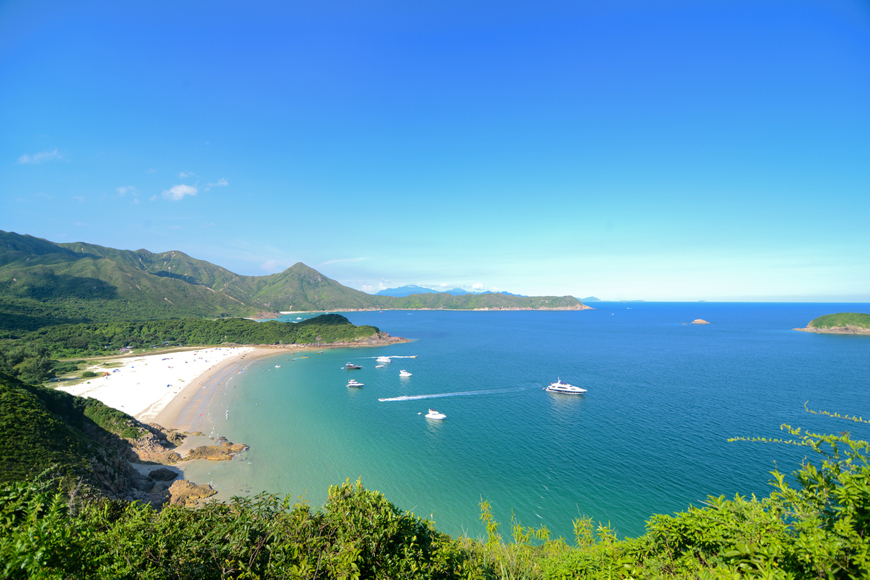 Hong Kong beaches and resorts