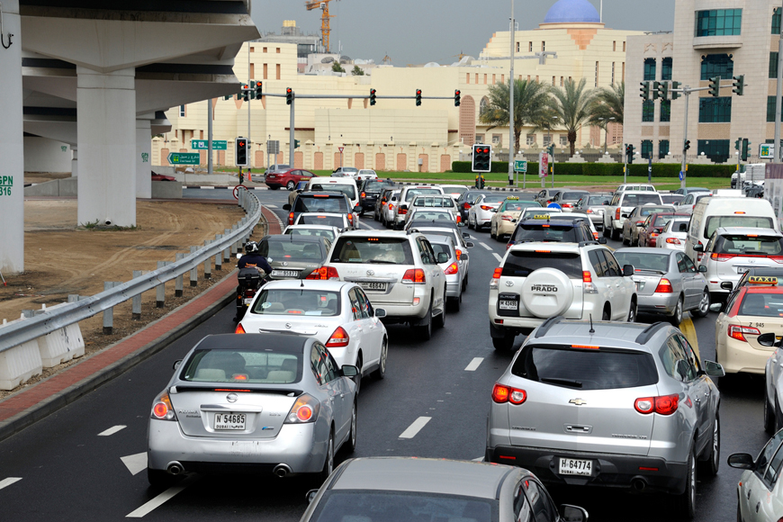 A New AED 1,000 Fine Has Been Introduced to Stop Rubbernecking