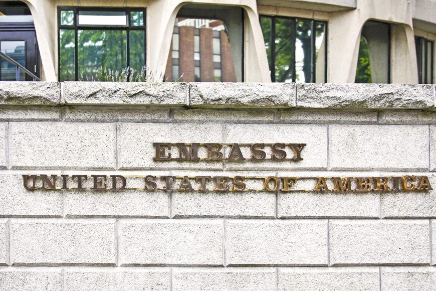 US Embassy in Hong Kong