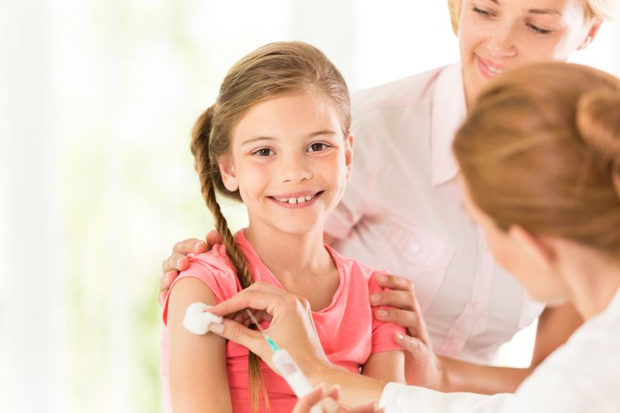 It is Time for the flu Vaccine for Children
