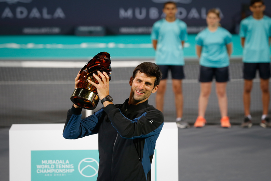 81b5e715b Novak Djokovic Wins 11th Edition Of The Mubadala World Tennis ...