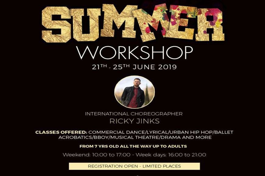 Be Part of an Exciting Dance Workshop in Dubai