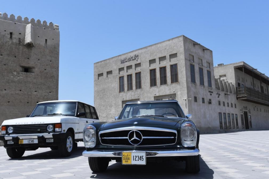 You Can Now Get Vintage Vehicle Licence Plates in Dubai