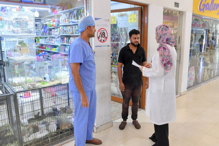 Abu Dhabi Authorities Crackdown on Illegal Pet Shop Practices