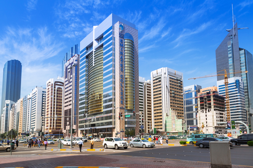 Pedestrian radars in Abu Dhabi for safety