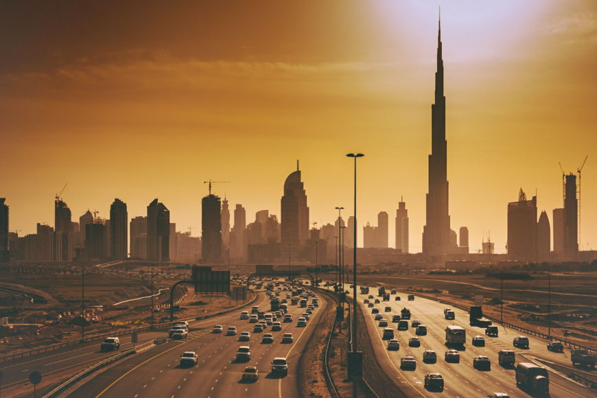 The Speed Limit On Two Main Dubai Highways Will Be Reduced