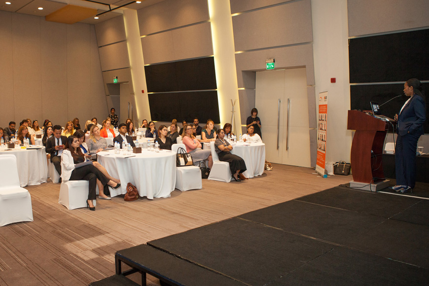 In Pictures: HR Breakfast with Thenji Macanda