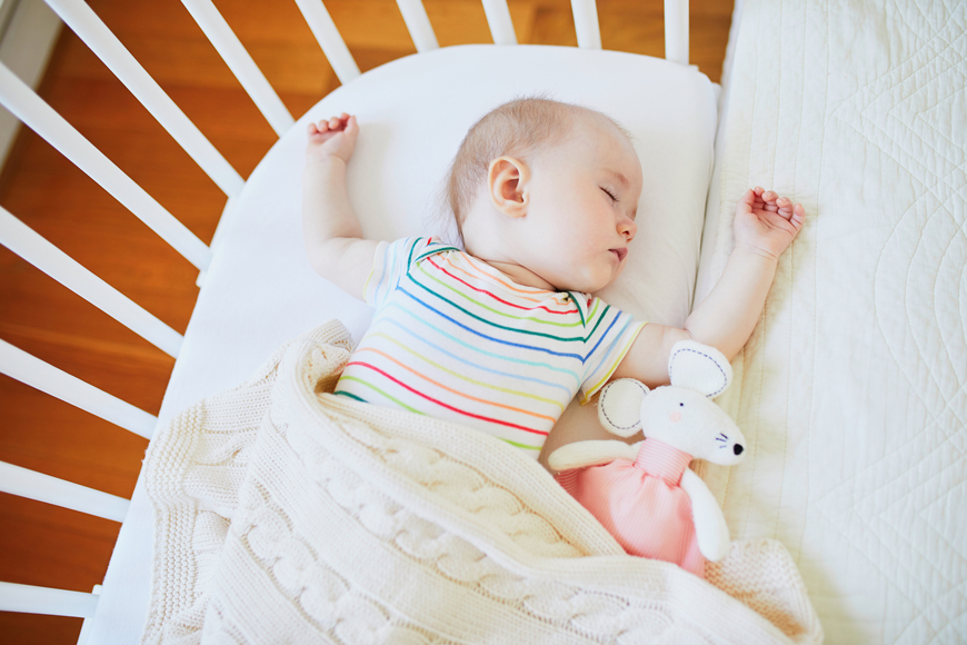 Sleep training your baby in Dubai with Aga Khan ELC