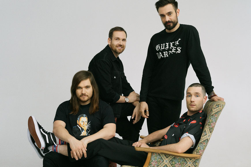"Bastille's Chris Wood: Their Favourite Memory in Dubai and The ""Doom Days"" Tour Life"