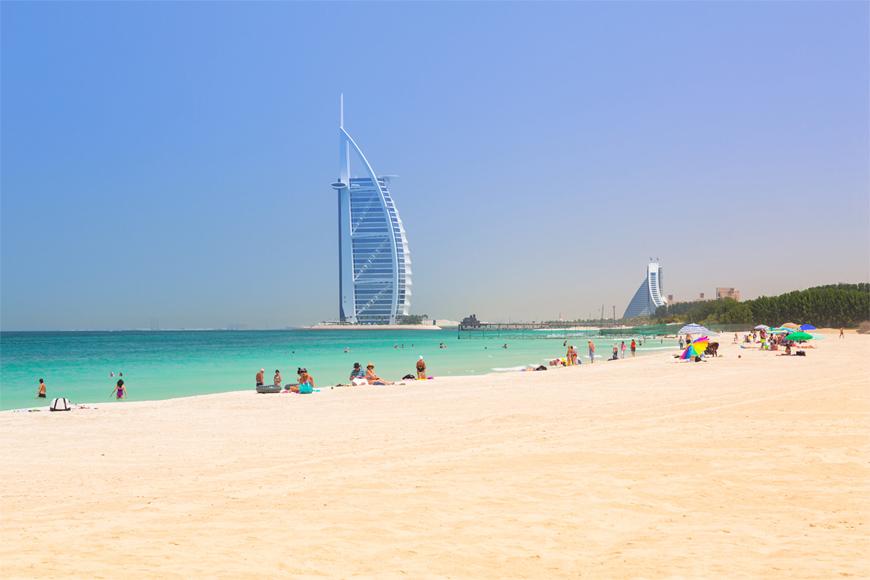 Beach In Dubai