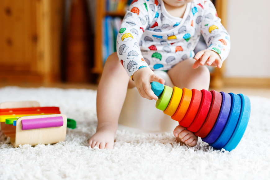 Beginning Potty-Training with Your Child's Nursery in Dubai