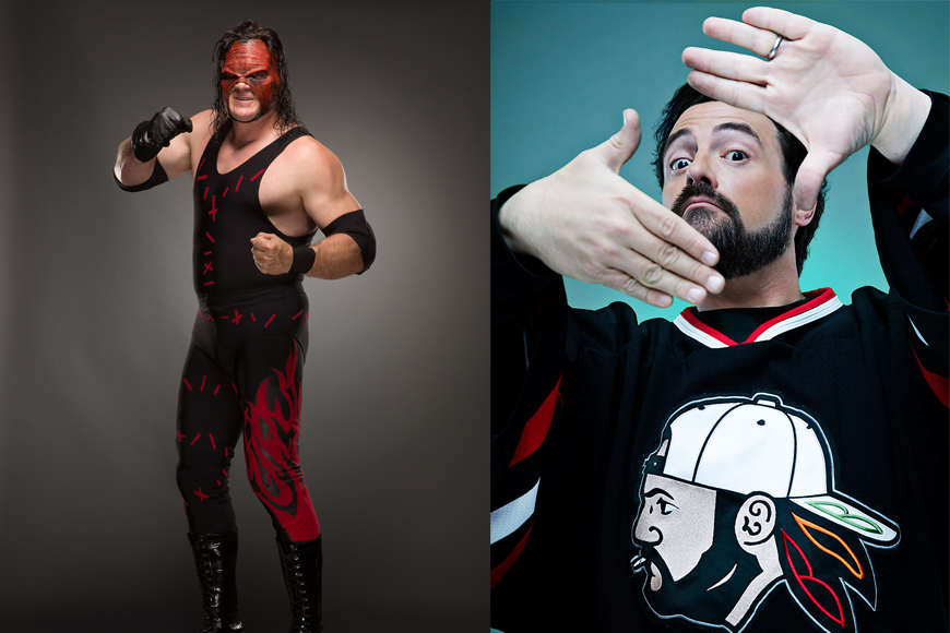 Kevin Smith and WWE's Kane Confirmed for This Year's MEFCC