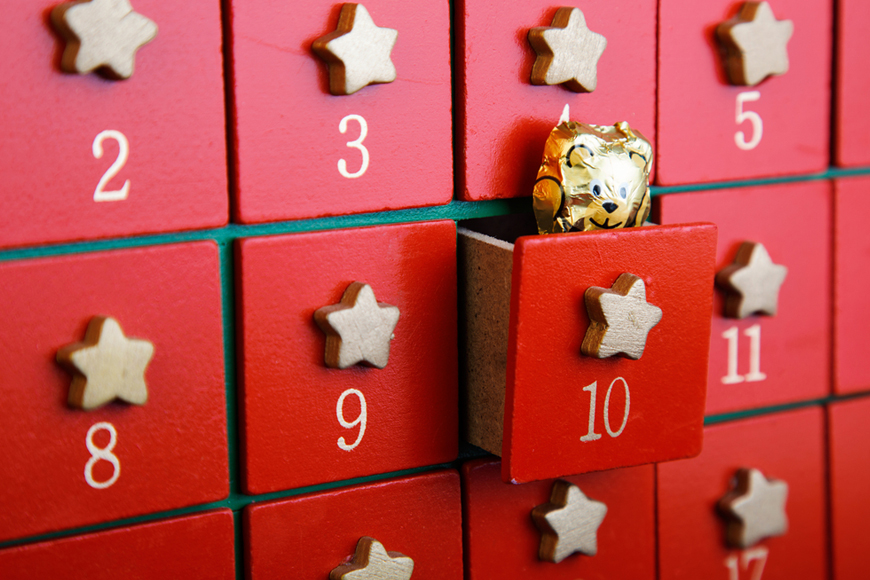 Advent calendars in Dubai