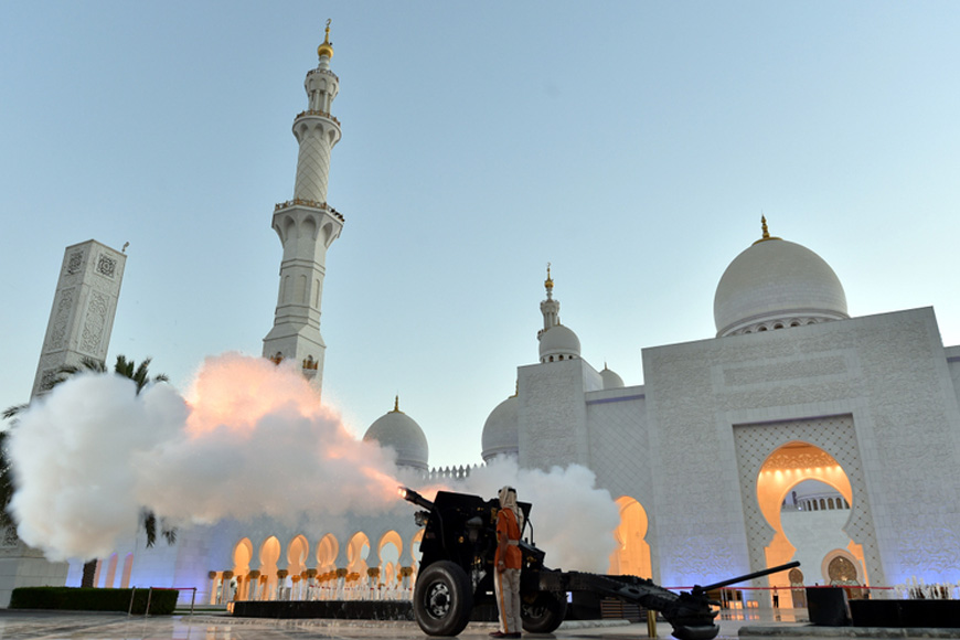 Ramadan cannons in Dubai and UAE