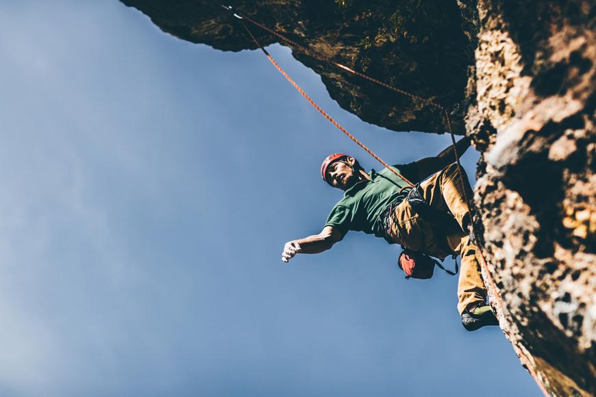 Rock Climbing in Oman