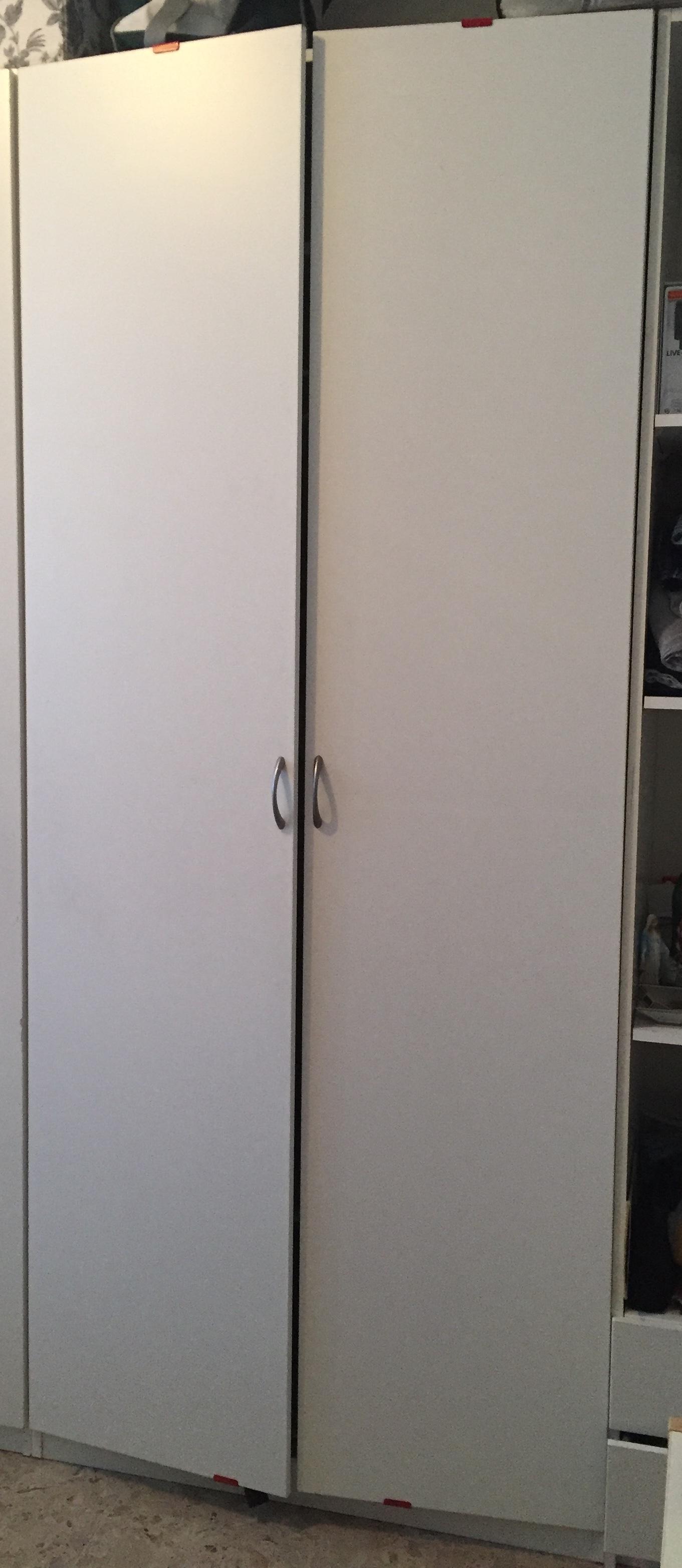 Ikea Pax Wardrobe With Bergsbo Doors Height 236 Cm Width