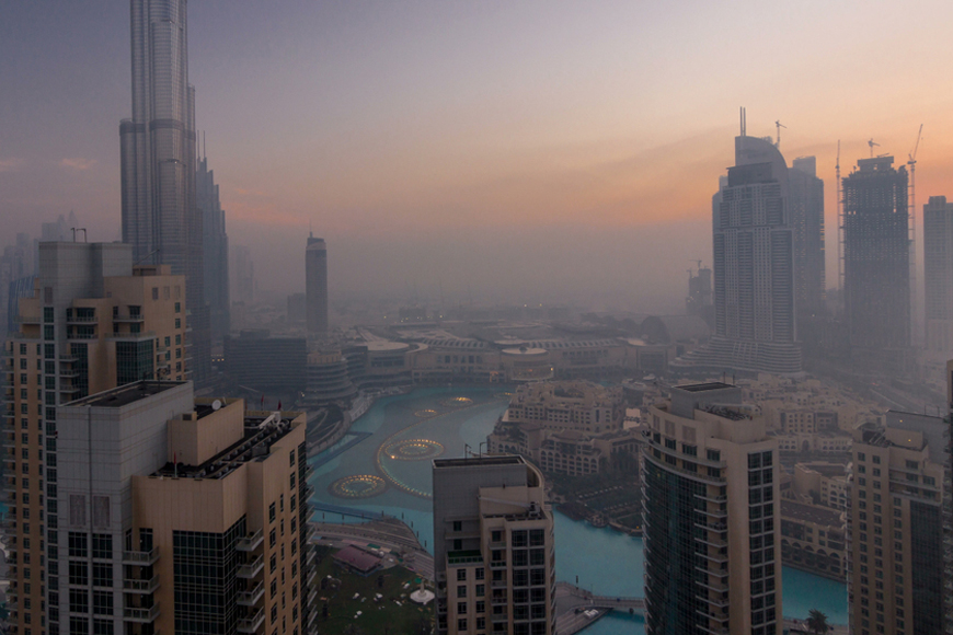 Cold weather in Dubai and UAE January 2019