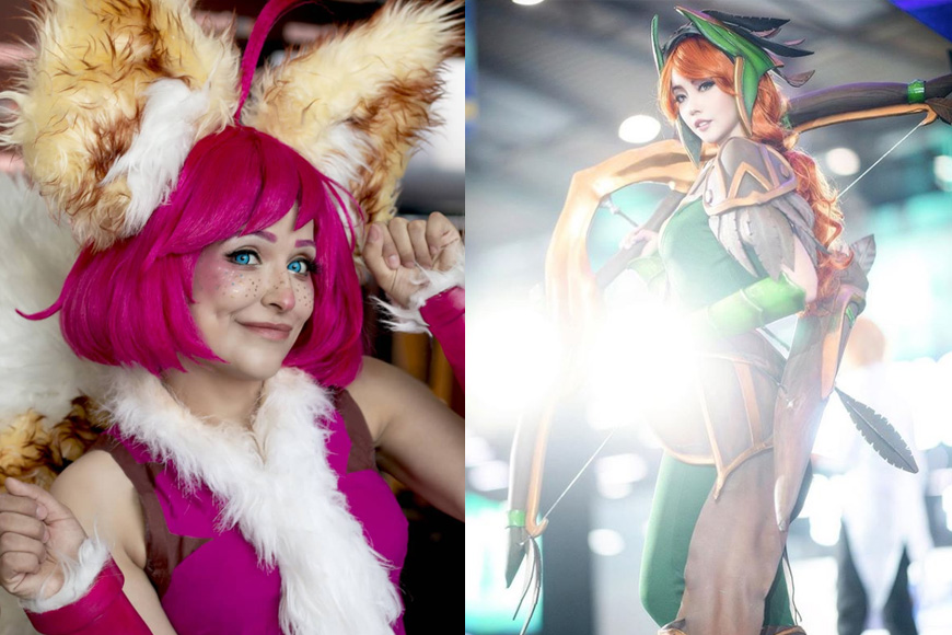 Cosplay Competition at GIRLGAMER Esports Festival