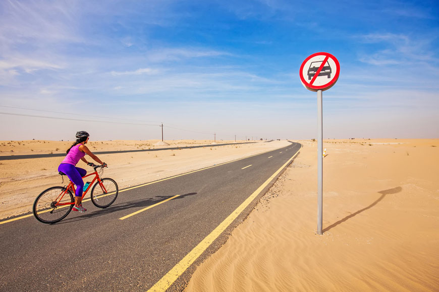 Al Marmoom Women's Cycling Challenge in Dubai 2019