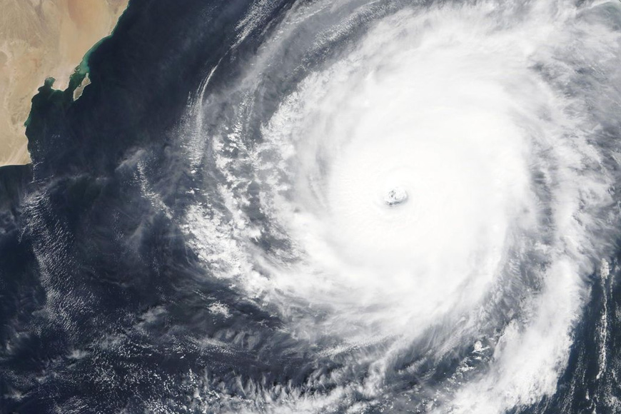 Tropical cyclone Kyarr in Arabian Sea