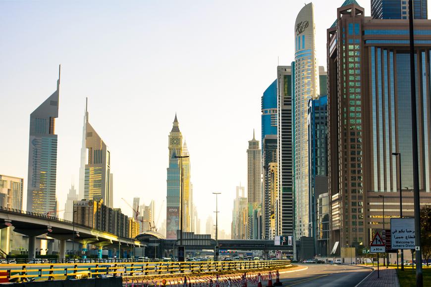 Billboard In Dubai