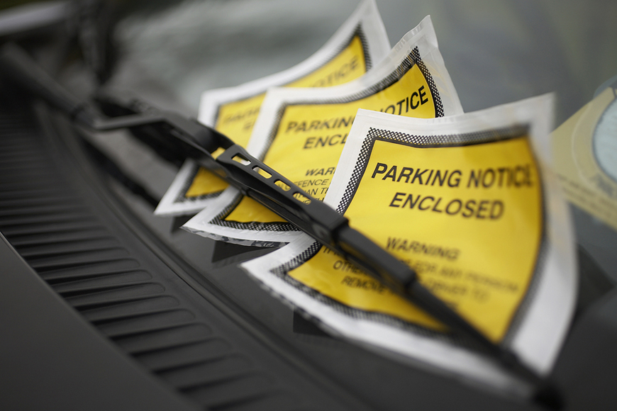 Paying for your parking and traffic fines