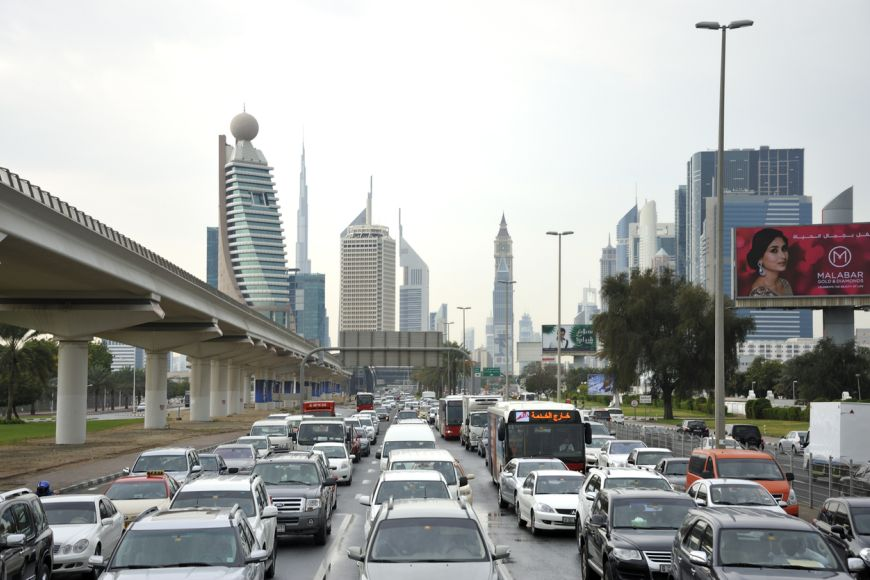 Registering a Minor Road Accident in Dubai