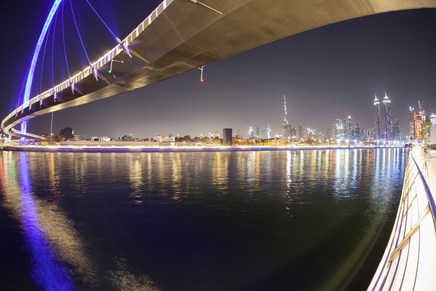 Now You Can Ride an Abra Along Dubai Canal