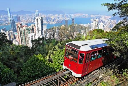 The Peak Tram Hong Kong