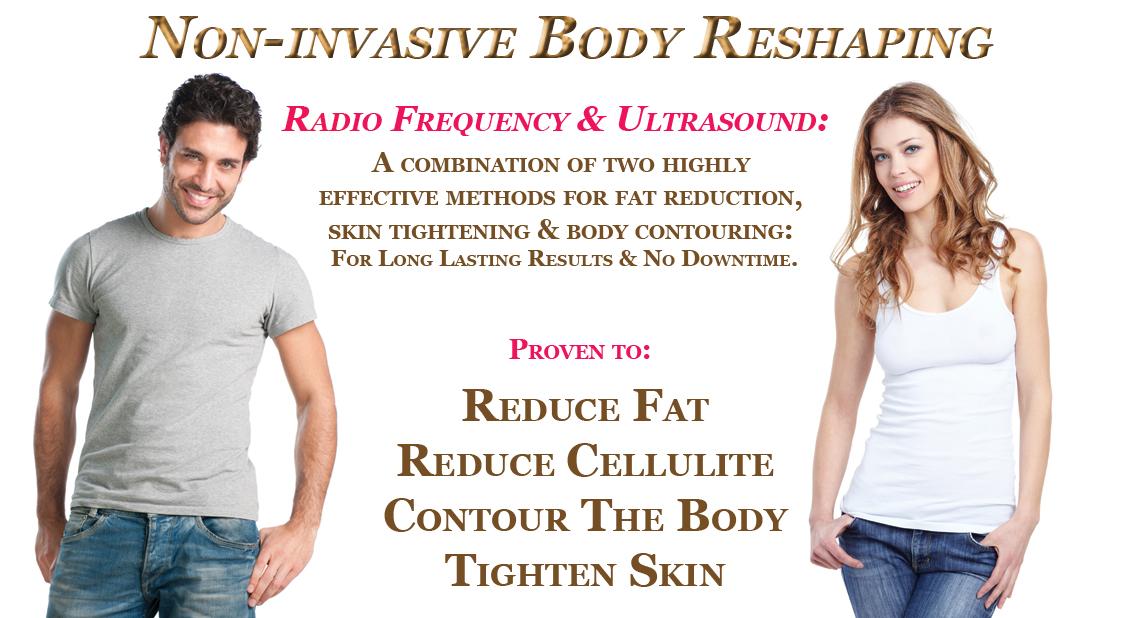 Non invasive body shaping