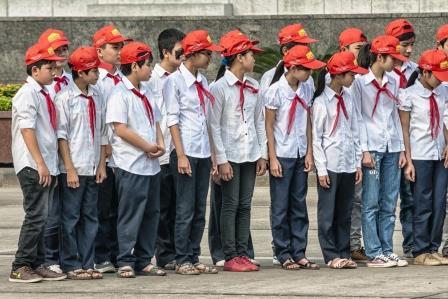 School registration in Vietnam