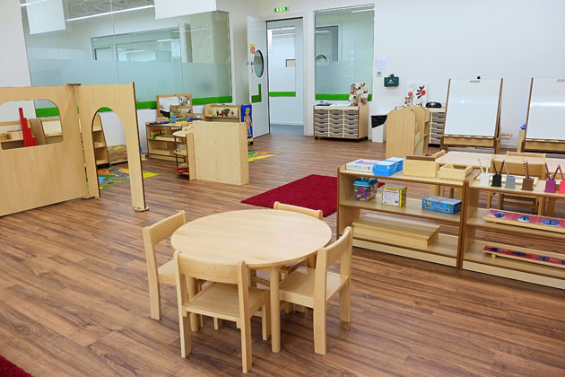 Redwood Montessori Nursery in Dubai