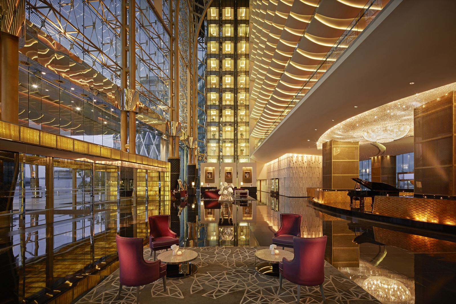 Christmas in Dubai and New Year's Eve at The Meydan Hotel