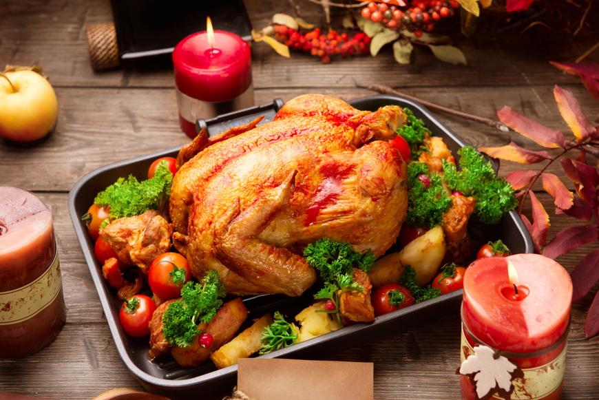 Turkey take-away for Christmas in Dubai from Meydan
