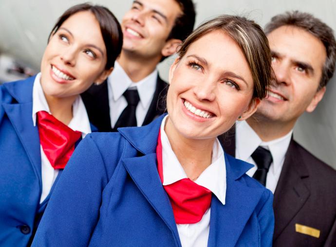 air hostess in dubai