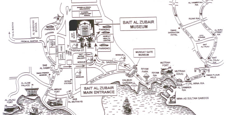 bait al zubair map