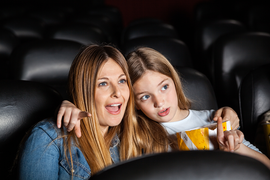 Mother child date ideas - the cinema