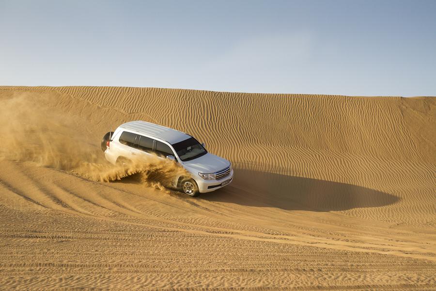 Qatar Dune bashing