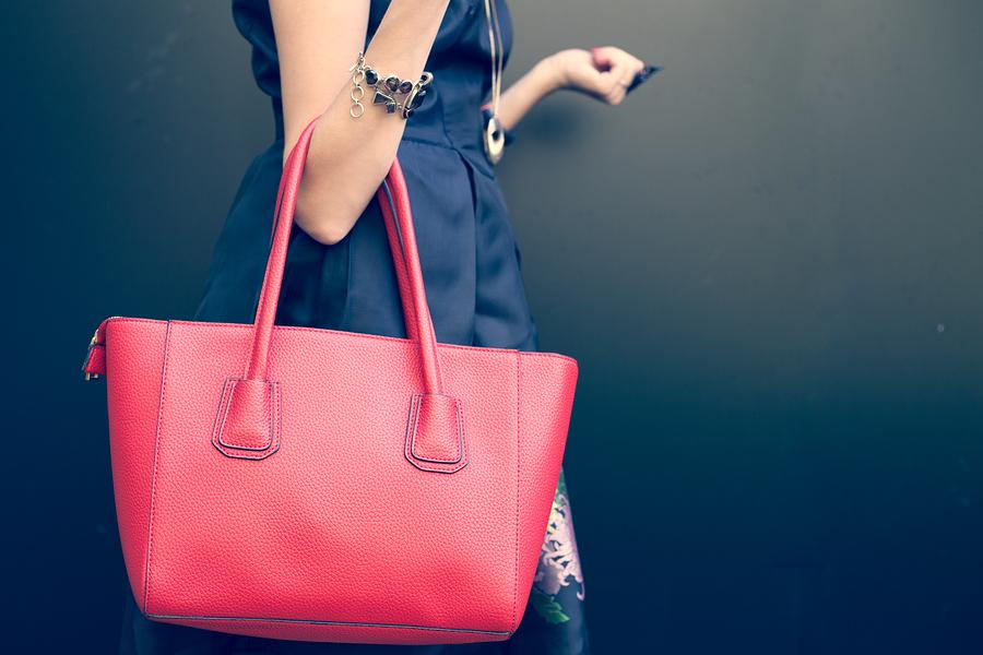 Carry a red handbag to work