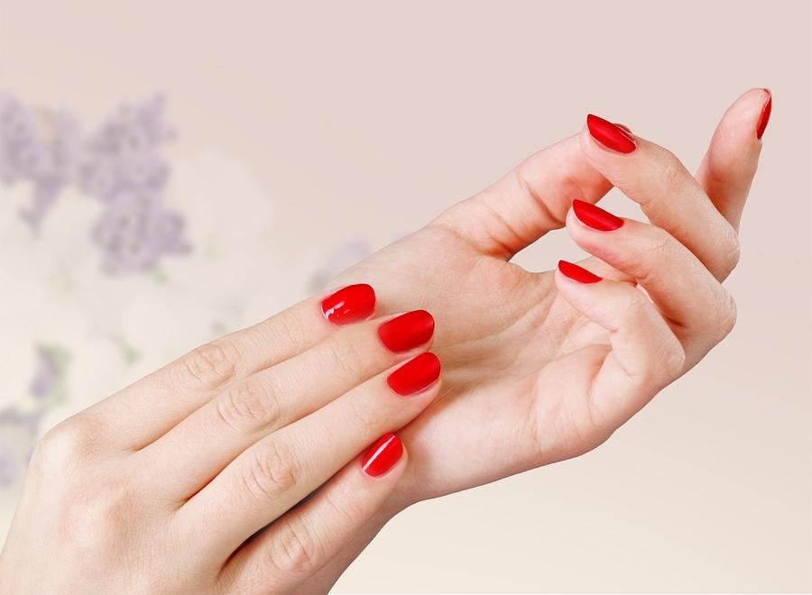 Wear red nail polish at work