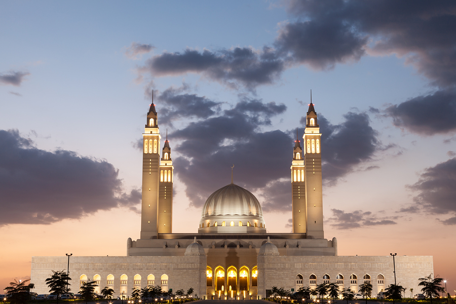 Grand Mosque in Oman