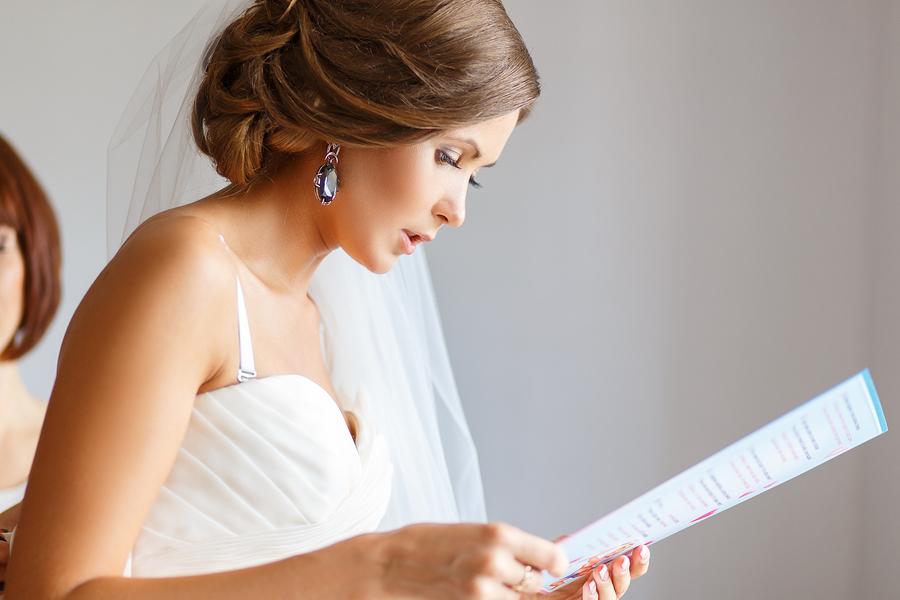 Wedding readings in literature