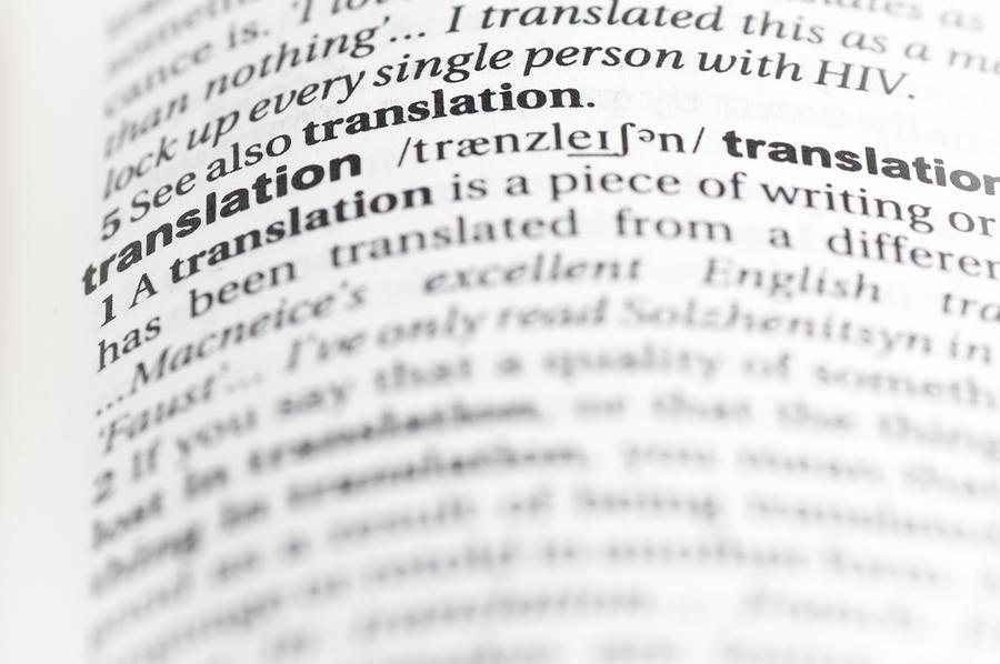 Translation in Language