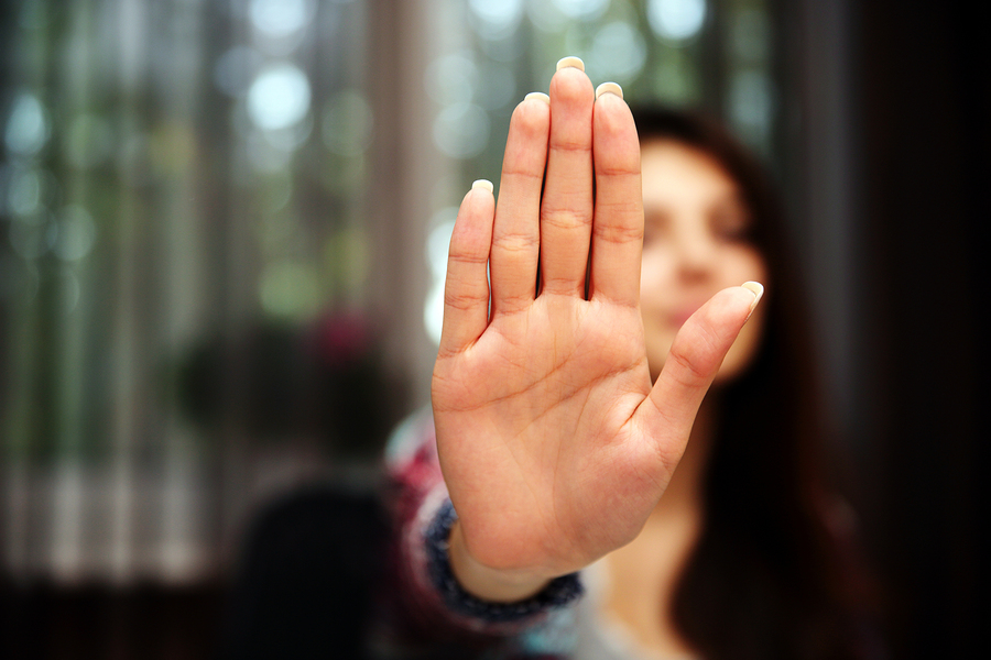 No hand gestures in Dubai