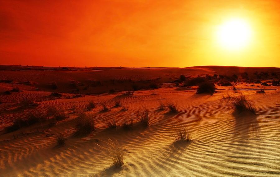 dubai desert weather