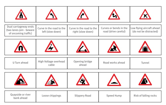 dubai road signs expatwoman com rh expatwoman com Prohibitory Traffic Sign Trafic Signs