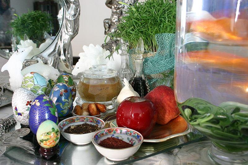 haft sin table norooz iran