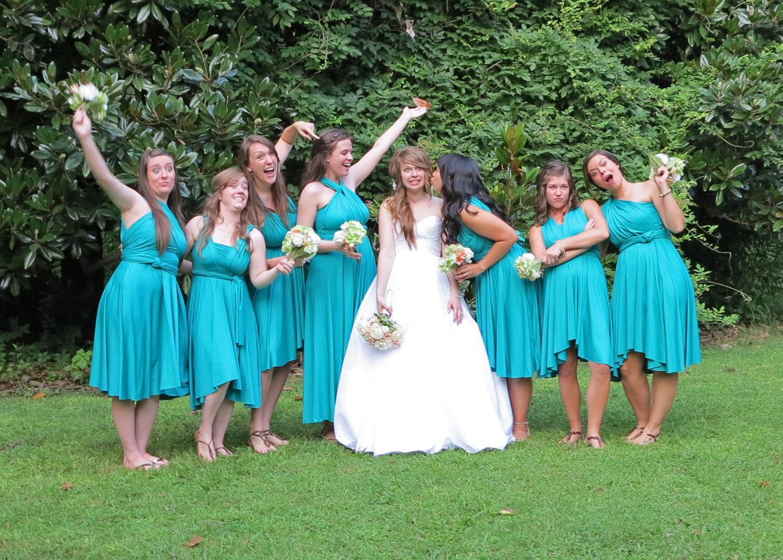 Silly photo wedding